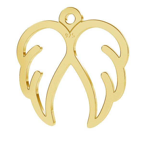 Wings pendant, sterling silver 925, LK-1271 - 0,50