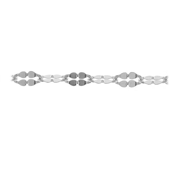 Forzatina silver chains in meters, A 040 QDF ALT
