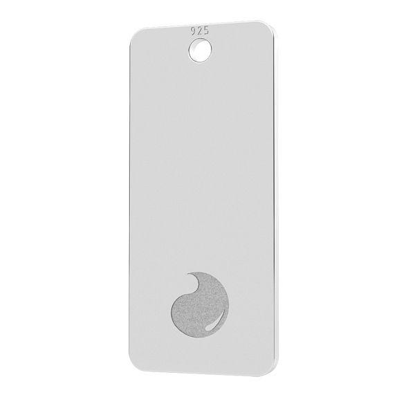 Water element pendant, sterling silver 925, LK-1226 - 0,50