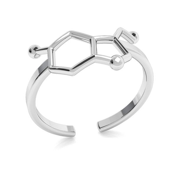 Infinity ring, sterling silver 925, ODL-00349