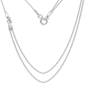 Base for necklaces, sterling silver 925, S-CHAIN 19 (A 030)