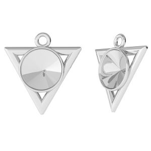 Triangle pendant for Rivoli, sterling silver, ODL-00344 (1122 SS 39)