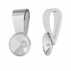Decorative pendant for Rivoli 6mm, silver 925, ODL-00371 (1122 SS 29)