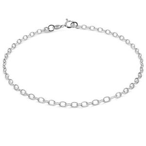 Round anchor barcelet, sterling silver 925*A 050 19 cm