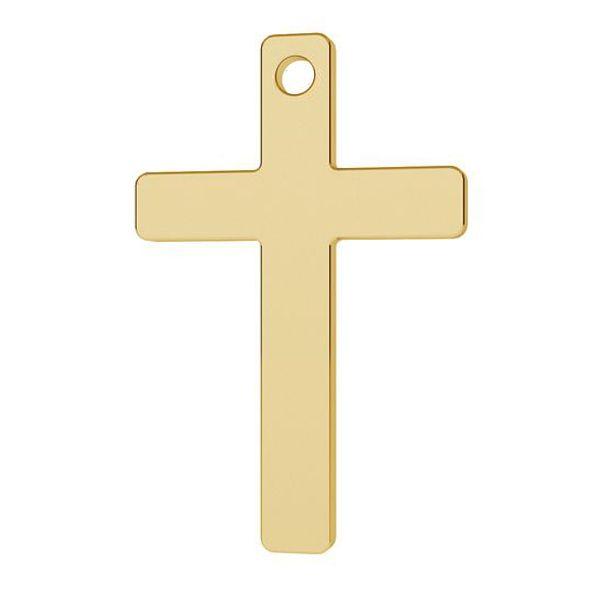 Cross pendant gold 14K, LKZ-1372 - 0,30