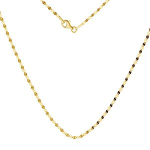 Gold chain coffe 14K, FBL 030 AU 585, 14K - 50 cm