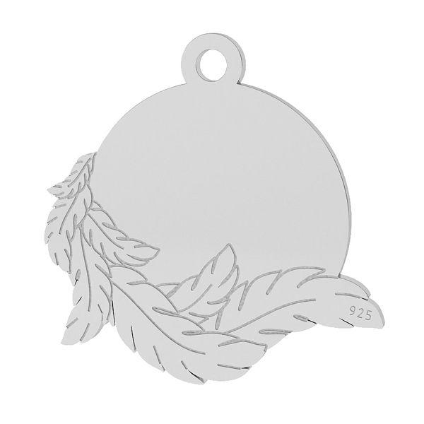 Wings pendant, sterling silver 925, Wings pendant, sterling silver 925, LK-1467 - 0,50
