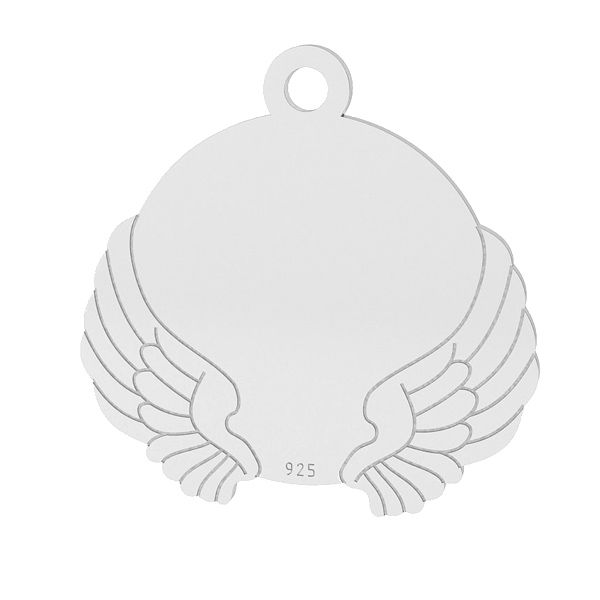 Wings pendant, sterling silver 925, LK-1469 - 0,50