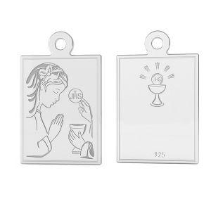 Medalion sterling silver, LK-1488 - 0,50