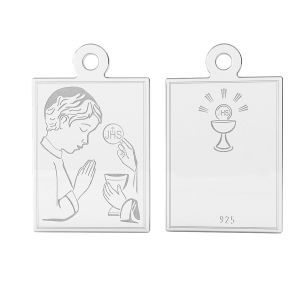Medalion sterling silver, LK-1489 - 0,50