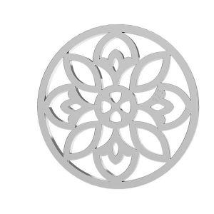 Openwork pendant, sterling silver, LKM-2039