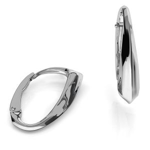 BA 39, Leverback earrings findings sterling silver