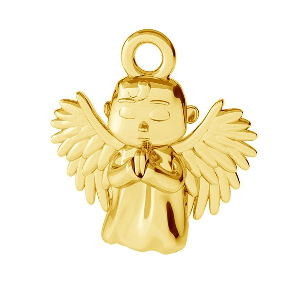 Angel pendant, sterling silver, ODL-00460