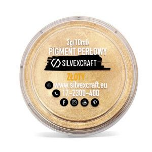 Pearl pigment, gold - 3 g