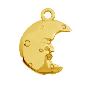 Moon pendant, sterling silver 925, ODL-00468