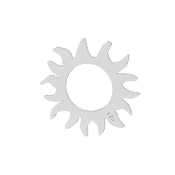 Sun pendant, sterling silver, LKM-2091 - 0,50