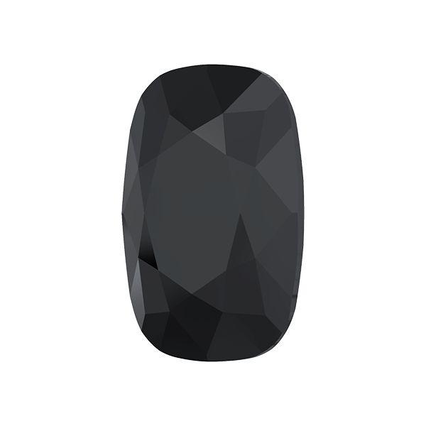 4568 MM 14,0X 10,0 JET, Cushion Fancy Stone
