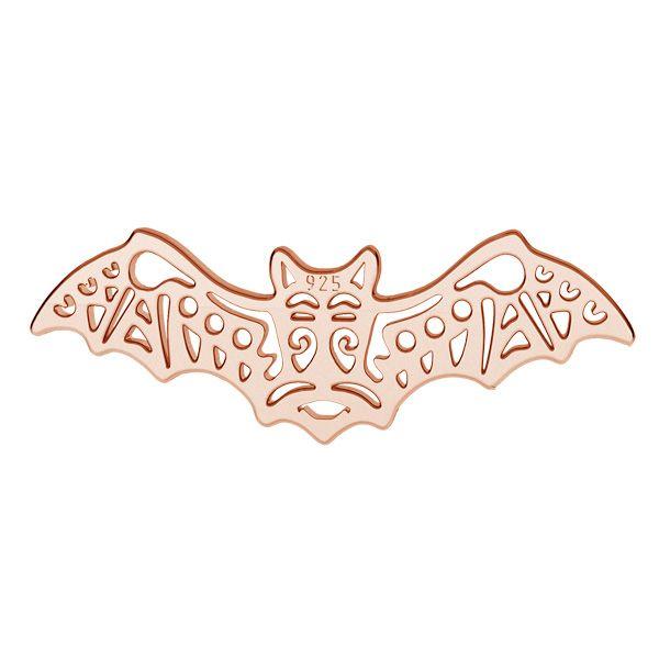 Bat pendant, sterling silver, LK-1559 - 0,50