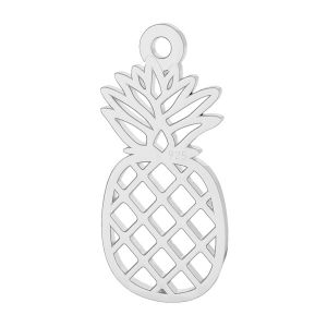 Pineapple pendant, sterling silver, LK-2114 - 0,50