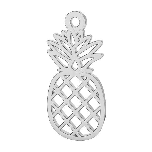 Pineapple pendant, sterling silver, LK-2114 - 0,50