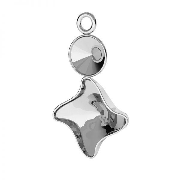 Earrings base for Swarovski Twister & Rivoli, OKSV 4485/1122 KLS 4