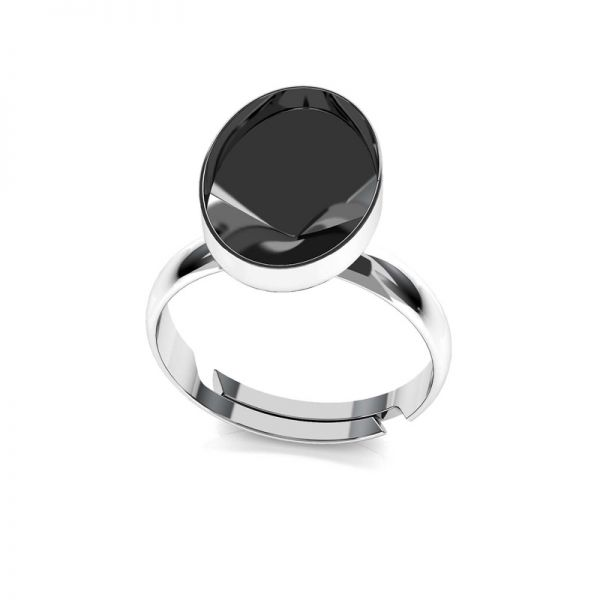 Sterling silver ring Swarovski base, OKSV 4122 MM 14,0 RING