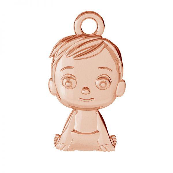 Boy pendant, sterling silver, ODL-00504