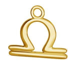 Libra zodiac pendant, sterling silver 925, ODL-00529