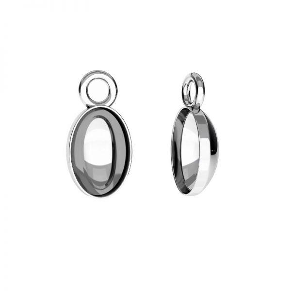 Sterling silver earrings Swarovski base, OKSV 4122 MM  8,00 KLS