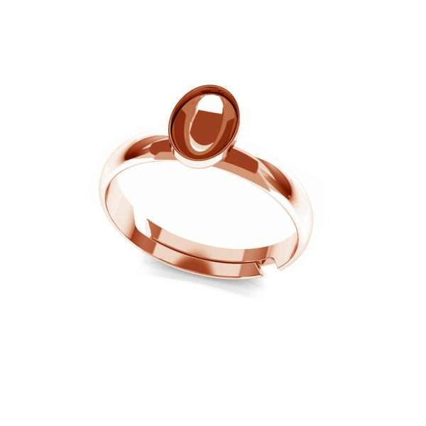 Sterling silver ring Swarovski base, OKSV 4122 MM  8,00 UNIVERSAL RING