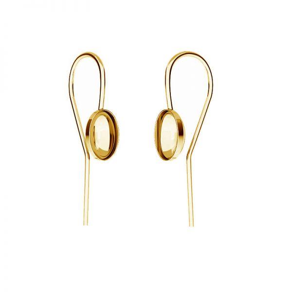 Sterling silver earrings Swarovski base, OKSV 4122 MM  8,00 BO