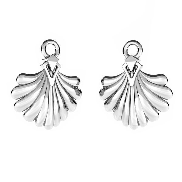 Shell pendant, sterling silver 925, ODL-00556