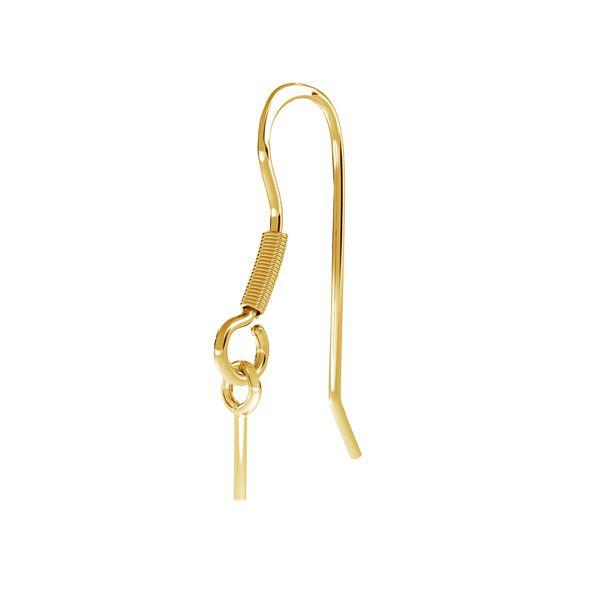 Silver open ear wires - BO 32
