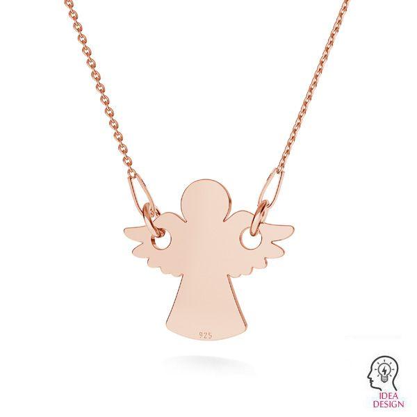 Angel pendant, silver 925, LKM-2244 - 0,50