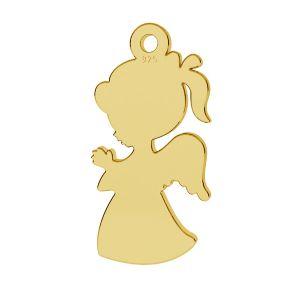 Angel child, girl pendant, LKM-2247 - 0,50