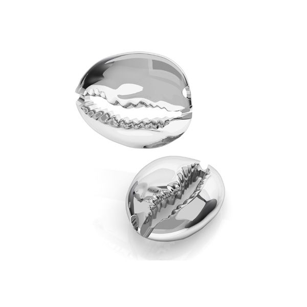 Shell pendant, sterling silver 925, ODL-00534