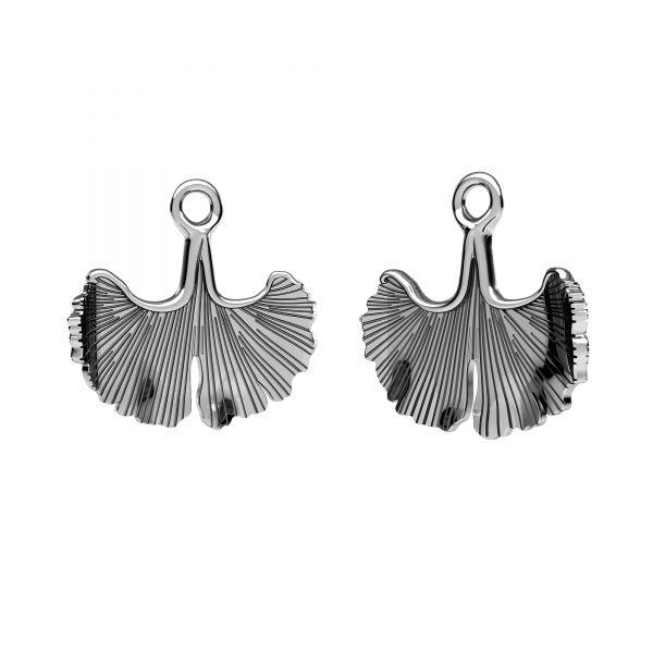 Leaf pendant, sterling silver 925, ODL-00629