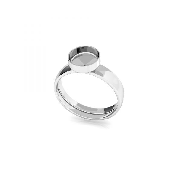 Round ring for resin, sterling silver 925, FMG ROUND 7 MM KLS - 2,10 MM