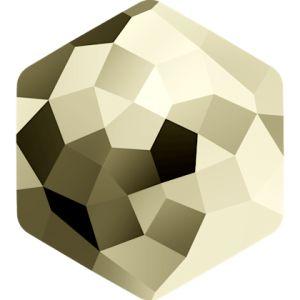 4683 MM 10,0X 11,2 CRYSTAL METLGTGOLD F (Metallic Light Gold)