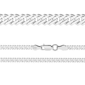 Rombo chain 0,4 cm*sterling silver 925*RD  60 (38 cm),