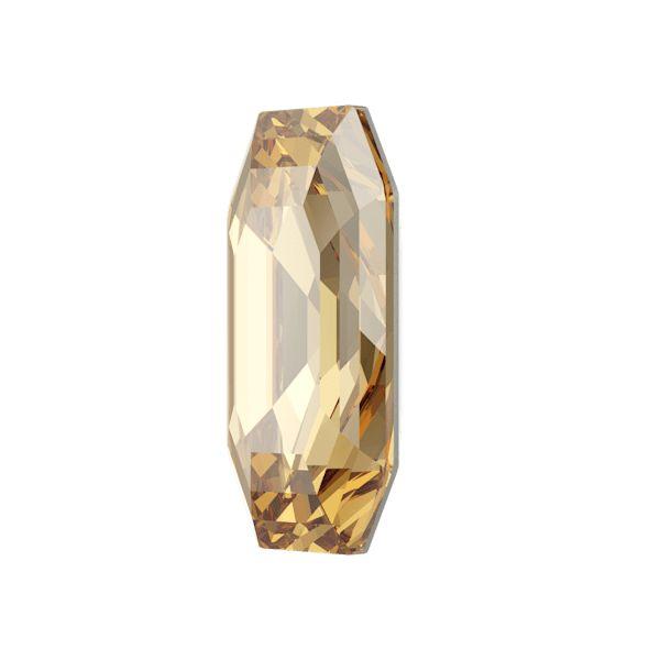 4595 MM 12,0X 6,0 CRYSTAL GOL.SHADOW F (Elongated Imperial Fancy Stone)