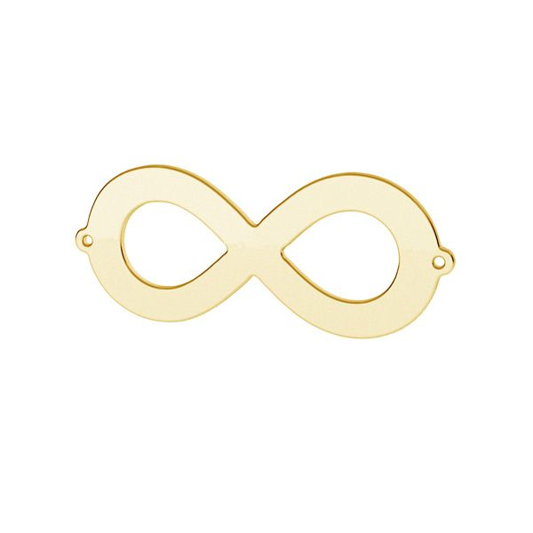 Infinity sign pendant, sterling silver 925, LK-1601 - 05