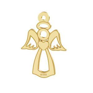 Angel pendant*gold 333*LKZ8K-30016 - 0,30 13x18,5 mm