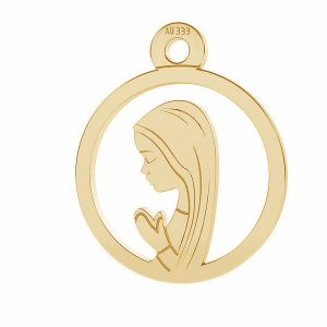 Our Lady gold pendant*gold 333*LKZ8K-30021 - 0,30 10,5x12,9 mm