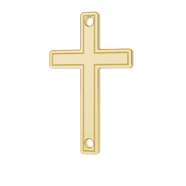 Cross pendant gold 14K LKZ-00028 - 0,30 mm