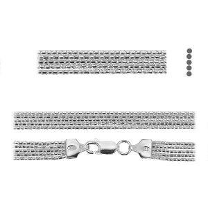 Coreana chain*sterling silver 925*PLE CORD 1,2 2S (45 cm)