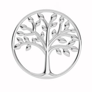 Tree of life pendant, sterling silver, LKM-2028 - 0,50