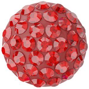 86601 MM10,0 21 227 - Cabochon Pave Light Rose