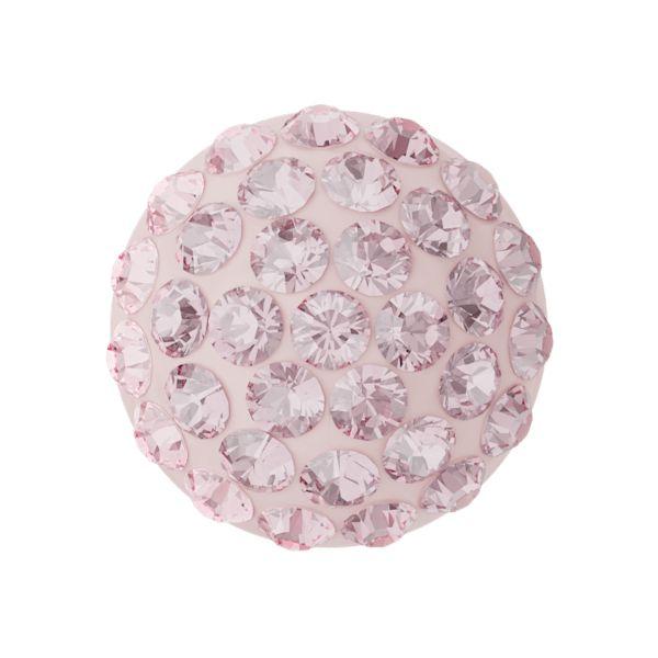 86601 MM12,0 06 223 - Cabochon Pave Light Rose