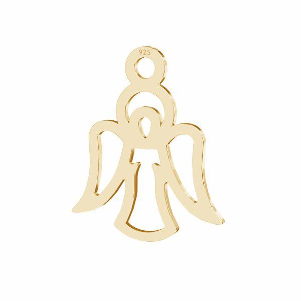 Angel pendant sterling silver 925, LKM-2830 - 0,50 17x20 mm